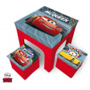 Set of table +2 stool Cars Disney