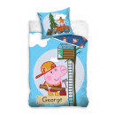 bed linen Peppa  Pig George 160x20070x90cotton