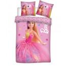 Babybettwäsche Barbie 135 x 100 40 x 60 Baumwolle