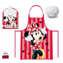 Cooking Apron + Disney Minnie Cap