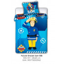 bed linen for the bed 135x100 60x40 Fireman Sam