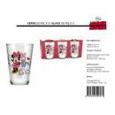 groothandel Glazen: glas Mouse Minnie Disney PK3 23,7cl