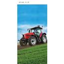 beach towel 140x70 coton tractor
