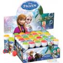 Soap bubbles frozen