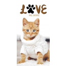 towel 70x140 Best Friends 001 coton