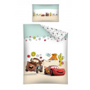Bedding for baby 135x100 60x40 Cars Disney cotton