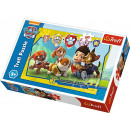 Puzzle 30 pieces Paw Patrol, Ryder and friend