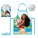 Cooking Apron + Disney Vaiana Cap