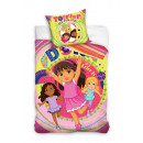 bed linen Dora the explorer 140x200 70x80 coton