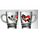 Cup Mickey i  Minnie Die Notiz 350 ml Disney