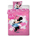 biancheria letto  mouse Minnie 01 160x200 70x80 cot