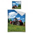 Bettwäsche tractor 140x200 70x80 Baumwolle 100%