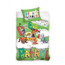 bed linen for baby  135x100 60x40 Paw Patrol green