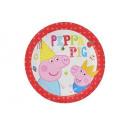 Platen Verjaardag Peppa Pig - 18 cm