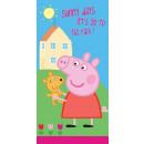 Handtuch Peppa das Schwein 70/140