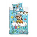 Bedding 135x100 40x60 Paw Patrol patrol, cotton