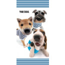 towel cotton bath The Dog 140x70