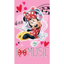 serviette 50x90 Disney souris Minnie 100% coton
