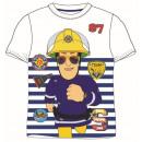 nagyker Ruha és kiegészítők: T-Shirt BOYS Fireman Sam 98-128