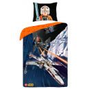 bed linen LEGO Star Wars spaceship 3d 140x200