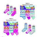 3pack socks Paw Patrol 70% cotton 23/26