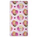 wholesale Licensed Products: Sheet 90x200 with  rubber .coton frozen Disney