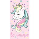 towel Unicorn Pink 70/140 JJ