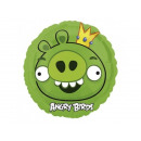 Foil balloon Angry Birds Re di Guinea - 47 cm