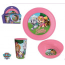 Paw Patrol plastic breakfast set