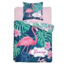 Ropa de cama para jóvenes 140x200 70x80 flamingo