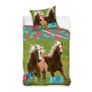 grossiste Linge de lit & Matelas: drap Animal Planet Chevaux 160/200 8010