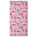 Sheet 90x200 with  rubber .coton, Barbie