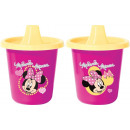 Travel Mug Minnie 225 ml 2 pieces Disney