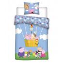 Ropa de cama de bebé Peppa Pig pepa pig 135x100 40