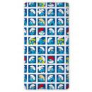 groothandel Licentie artikelen: Vel met rubber  Smurfen Grote Smurf 90x200