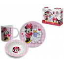 hurtownia Produkty licencyjne: Zestaw śniadaniowy  Disney Minnie 3 elementy