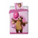 bed linen Masha and the Bear 027 160/200 + 70/80