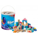 wholesale Blocks & Construction: Wooden blocks Dory Nemo 50 items