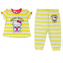 Dres bebé Hello Kitty 68-86 verano amarillo