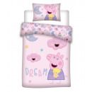 Baby bedding 135x100 40x60 Peppa Pig piggy cotton