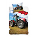 groothandel Home & Living: Bedtextiel Traktor 140x200 70x80 katoen 100%