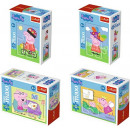 wholesale Licensed Products: Trefl 20 elements  Mini Maxi, Pig Peppa / 4 pcs