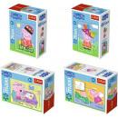 Trefl 20 elements Mini Maxi, Pig Peppa / 4 pcs