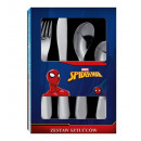 A set of cutlery Spiderman stamped stainless steel