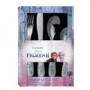 Metal cutlery frozen - complete set