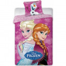 bed linen 140x200 70x90 Disney coton frozen