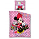 Bedding 135x200 80x80 Mouse Minnie on shopping