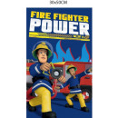 ingrosso Bagno: asciugamano Fireman Sam 30x50 cotone per asilo nid
