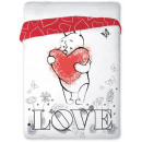 Bedspread 160x200 coton Winnie the Pooh Heart