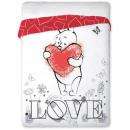 Bedspread 160x200 coton Winnie the Pooh Heart